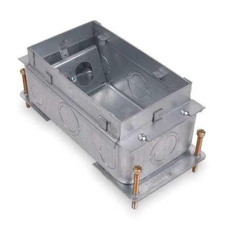 Steel city floor box steel 900 cu in 664 sc zorocom for Steel city floor boxes