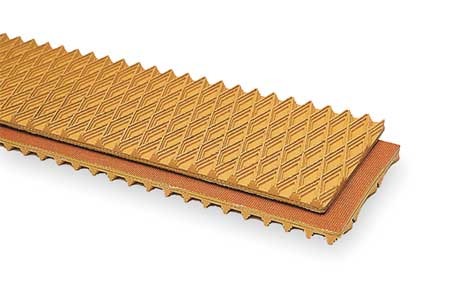 Apache Conveyor Belt Tan Rubber 100 Ft x 18 In