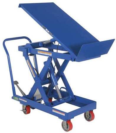 Vestil Scissor Lift Cart 500 lb. Steel Tilt