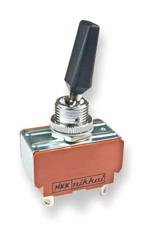 Toggle Switch DPST 25A @ 250V Solder Lug by USA NKK Electrical Toggle Switches