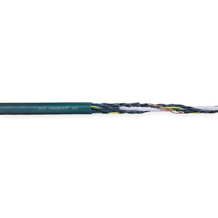 20 AWG 18 Conductor Continuous Flex Control Cable 600V GN by USA Chainflex Electrical Wire & Cable