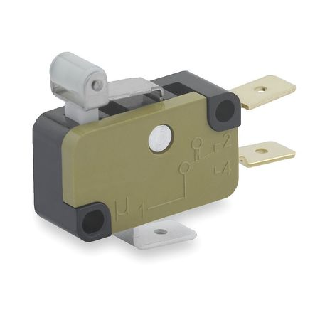 Mini Snap Swch 15A SPDT Roller Lever by USA Saia Electrical Enclosed Snap Action Switches