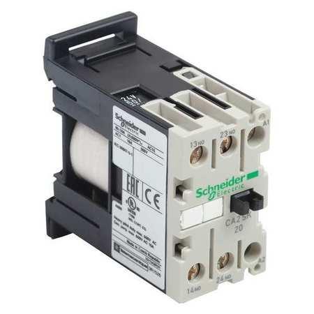 IEC Control Relay 1NO/1NC 480VAC 10A by USA Schneider Electrical Specialty Relays