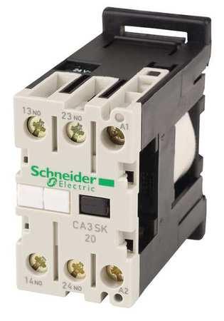IEC Control Relay 2NO 24VDC 10A by USA Schneider Electrical Specialty Relays