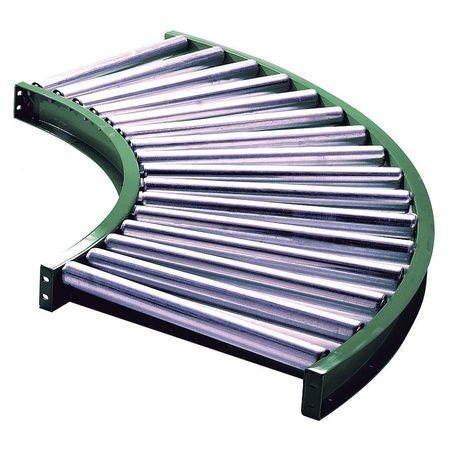 Ashland Roller Conveyor 90 Curve 27BF