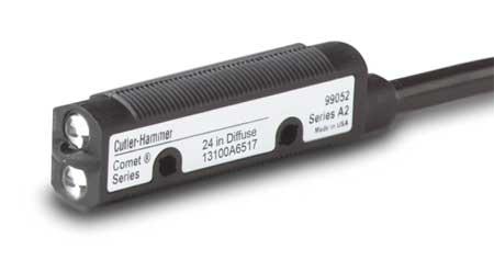 Photoelectric Sensor Cylindrical Diffuse Model 13100AQD03 by USA Eaton Photoelectric Sensors