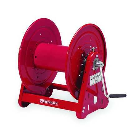 Cord Reel Hand Wind Industrial Red Model CA30112 CS by USA Reelcraft Extension Cord Reels