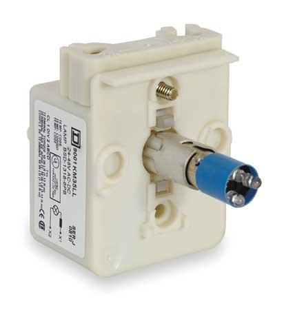 Lamp Module 30mm 120VAC/VDC Blue LED by USA Schneider Electrical Control Pilot Lights