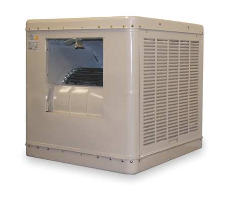 Ducted Evaporative Cooler,6500 cfm,3/4HP -  ESSICK AIR, 2YAE3-2HTL5