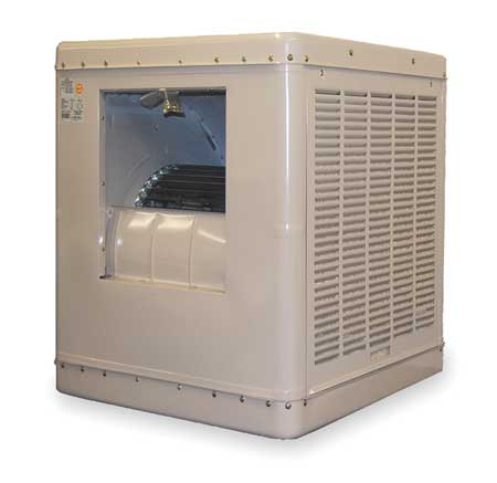 Ducted Evaporative Cooler,4000 cfm,1/3HP -  ESSICK AIR, 2YAE4-2HTK5