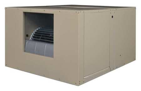 Ducted Evaporative Cooler,4400 cfm, 1/2 HP -  MASTERCOOL, 2YAF4-2HTK9-3X275