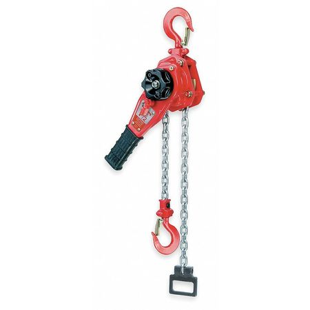 Lever-Operated 3/4- to 6-Ton Chain Ratchet Chain Pullers with Ratchet and Friction Brake