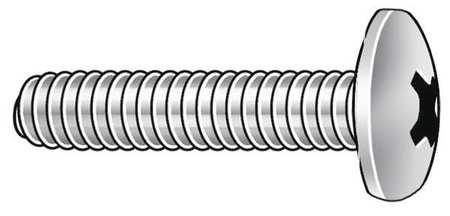 "100 pk. FABORY U51122.013.0062 #6-32 x 5//8/"" Pan Head Phillips Machine Screw"
