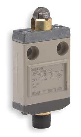 Miniature Limit Switch Model D4CC3002 by USA Omron Electrical Limit Switches
