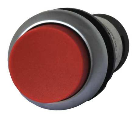 Non Illuminated Push Button Plastic Red Model C22 DRH R K11 by USA Eaton Electrical Non Illuminated Pushbuttons