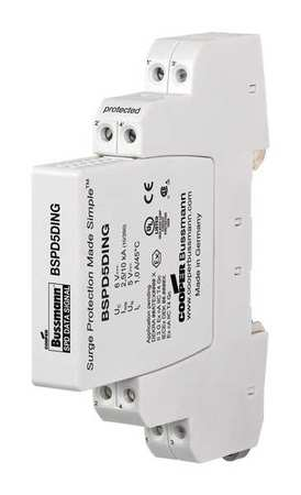 Data Surge Protection Device 1 Phase 48V by USA Bussmann Electrical Surge Protection Devices