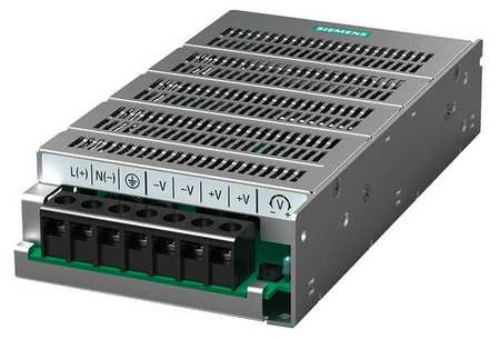 DC Power Supply 24VDC 6.2A 50/60Hz Model 6EP13331LD00 by USA Siemens Electrical AC DC Power Supplies