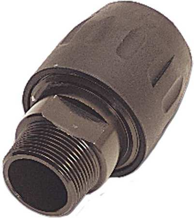 Male Threaded Connector,Transair,Brass -  PARKER, 6605 40 43GR