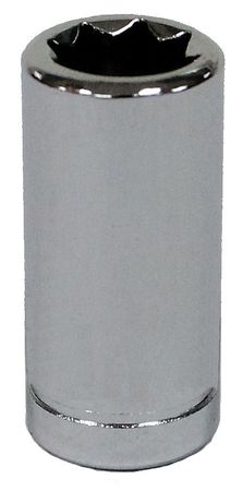 Westward Spark Plug Socket 1/4 in. Dr 1/4 in. 8pt