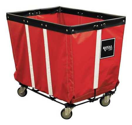 Royal Basket Perm Truck 20 Bu Red Wire Base