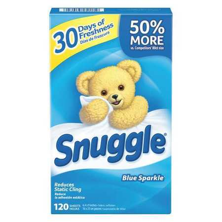Snuggle Box Dryer Sheets, 6 Pack, 120 Sheets/ Pack