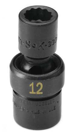 "SK Flex Impact Socket 14mm Size 3"" L"