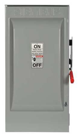200 Amp 240VAC Single Throw Safety Switch 2P Model HF224NR by USA Siemens Electrical Safety & Disconnect Switches