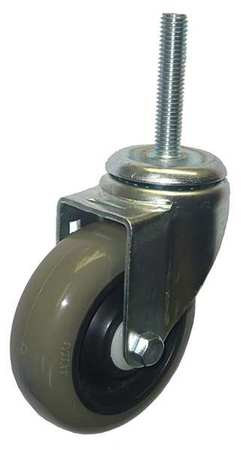 Value Brand Swivel Stem Caster Poly 4 in. 275 lb. Gry