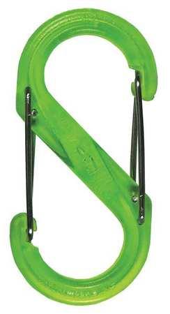 Nite Ize Carabiner Clip 2-1/32 in. Lime