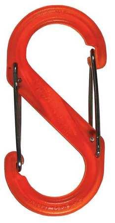 Nite Ize Carabiner Clip 2-1/32 in. Orange