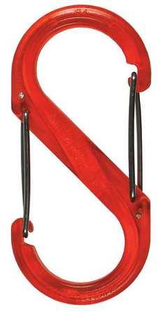 Nite Ize Carabiner Clip 3-1/2 in. Orange