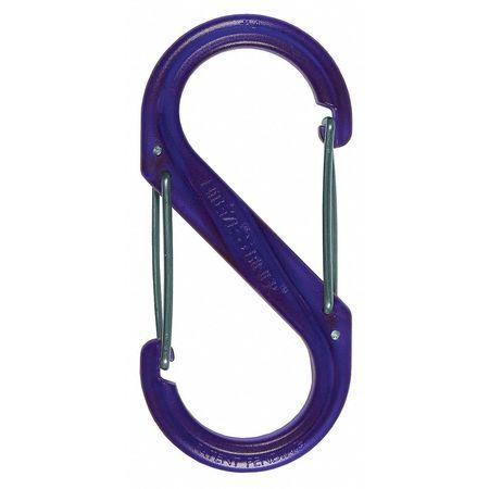Nite Ize Carabiner Clip 3-1/2 in. Purple