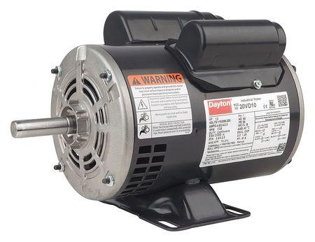 GP Mtr CS/CR ODP 1/2 HP 1725 56 EFF 76.2 by USA Dayton General Purpose Capacitor Start AC Motors