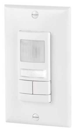 Occupancy Sensor PIR 2000 sq ft White Model WSX 2P NL WH by USA Acuity Lithonia Infrared Motion Sensors