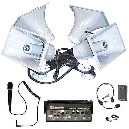 Quad Sound Cruiser by USA Amplivox Wired Intercom Systems