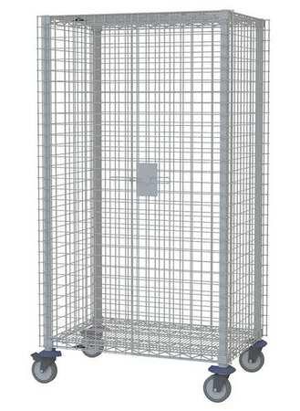 Metro Wire Security Cart Epoxy Coat 41x28x68 Type MQSEC53VE