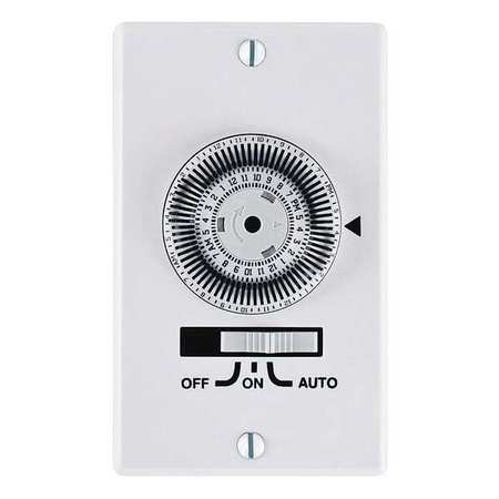Timer Mechanical 120V 20A Wall Switch by USA Intermatic Electrical Plug In & Wall Switch Timers
