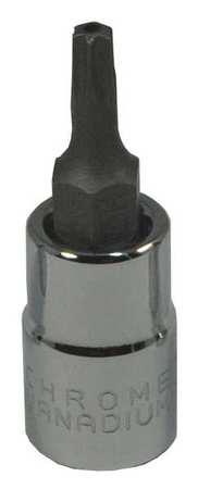 Westward Socket Bit 1/4 in. Dr T15 Tamper Torx(R)