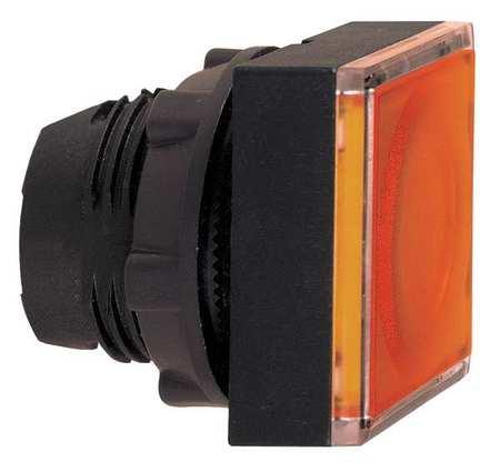 Illum Push Button Operator 22mm Yellow Model ZB5CW353 by USA Schneider Electrical Illuminated Pushbuttons