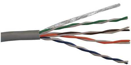 Cable Cat 5e 24 AWG 100 ft Blue Model CP5.30.07 by USA Carol Communication Cables