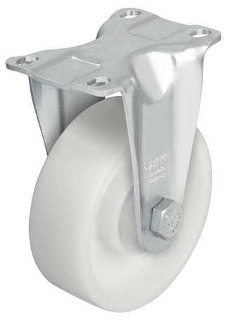 Value Brand Rgd Plate Caster Nyln 5 in. 400 lb Znc C