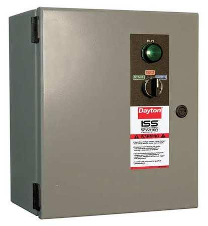 NEMA CB Starter Size 3 24V Coil 1 Enc by USA Dayton Electrical Motor NEMA Combination Starters