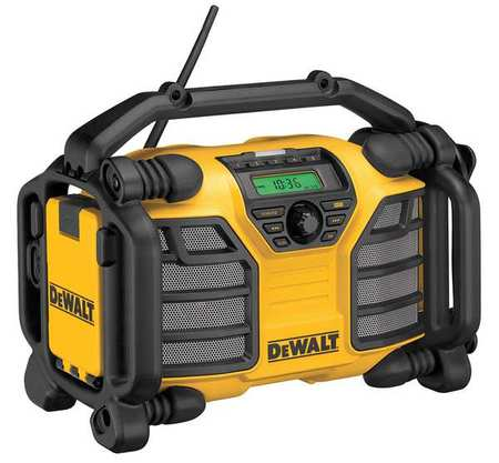 DeWalt DCR015 Jobsite Radio 20V MAX/12V  and Battery Charger