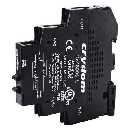 Solid State Relay 200 to 265VAC 6A by USA Crydom Electrical Solid State Relays