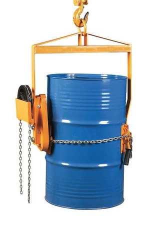 Value Brand Drum Dumper 1 Drum 55 gal. 800 lb.