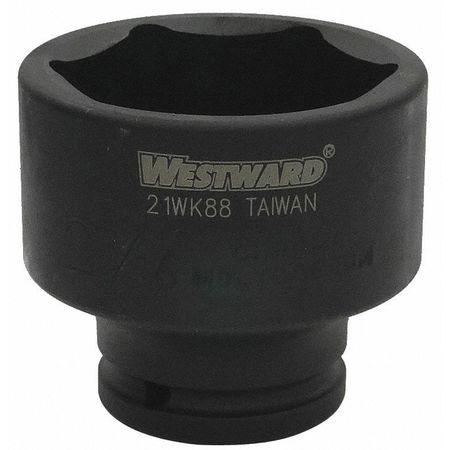 Westward Impact Socket 3/4In Dr 2 7/16In 6pts Type 21WK88