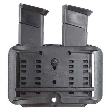 Mag Pouch,Dbl Stacked 9mm/.40,Blk,Nylon 844802130066