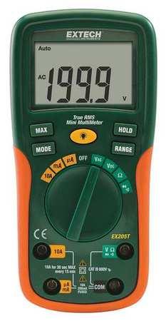 Multimeter,-40deg to 1832degF,10 MHz EXTECH EX355