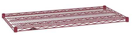 Metro Wire Shelf 21x48 in. Flame Red PK4