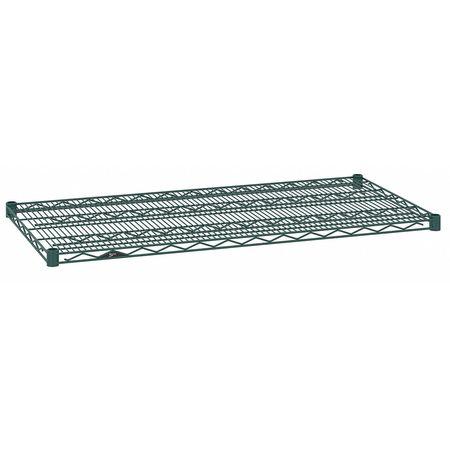 Metro Wire Shelf 14x72 in. Hunter Green PK4